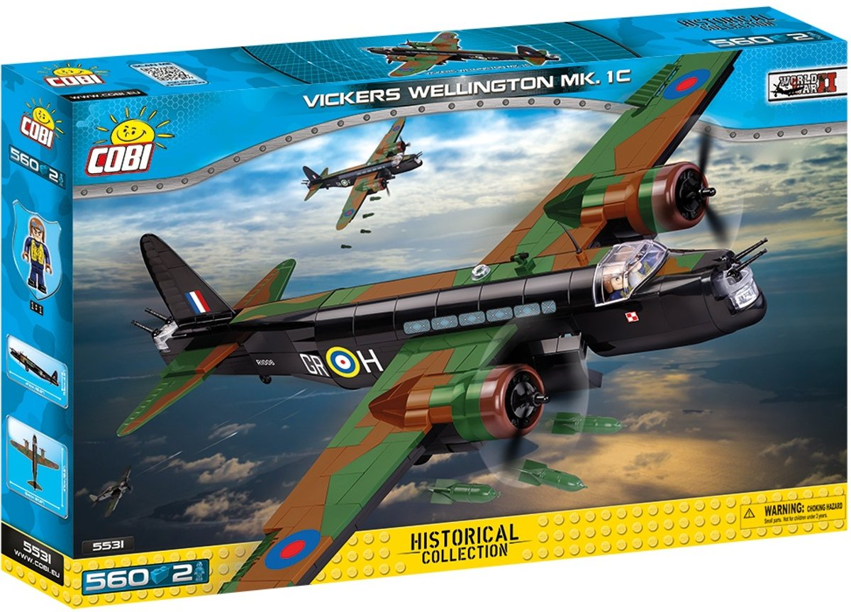 Cobi Small Army Vickers Wellington Mk. Ic Bouwset (5531)