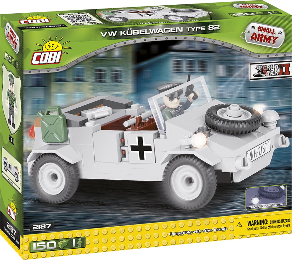 Cobi WW2 2187 - VW Kubelwagen Type 82