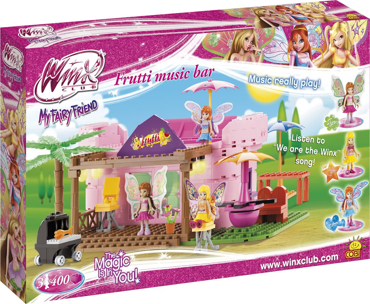 Cobi Winx Club Frutti Music Bar - 25400