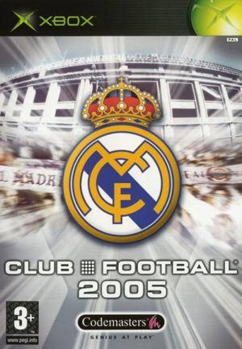 Club Football Real Madrid 2005 /Xbox
