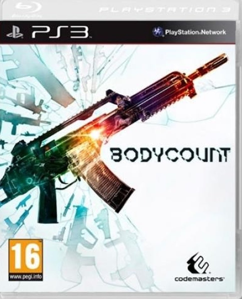 Codemasters Bodycount, PS3 Basis PlayStation 3 video-game