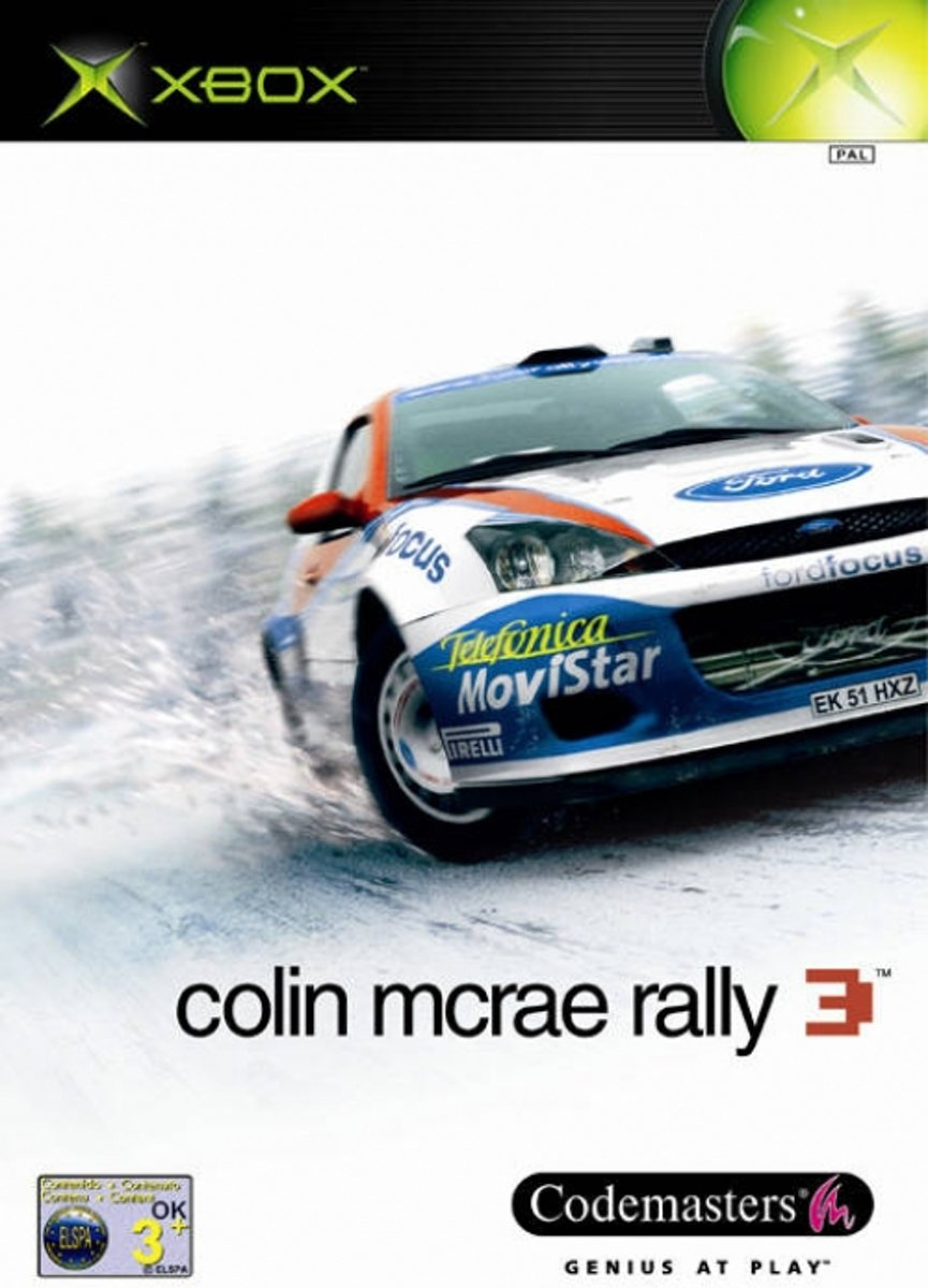 Colin Mc Rea Rally 3