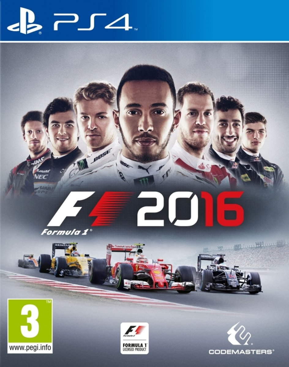F1 2016 Limited Edition - PS4