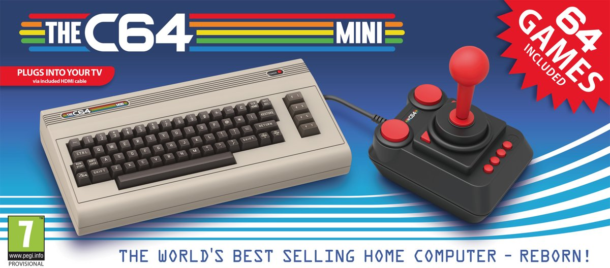 The C64 Mini (uitverkocht)