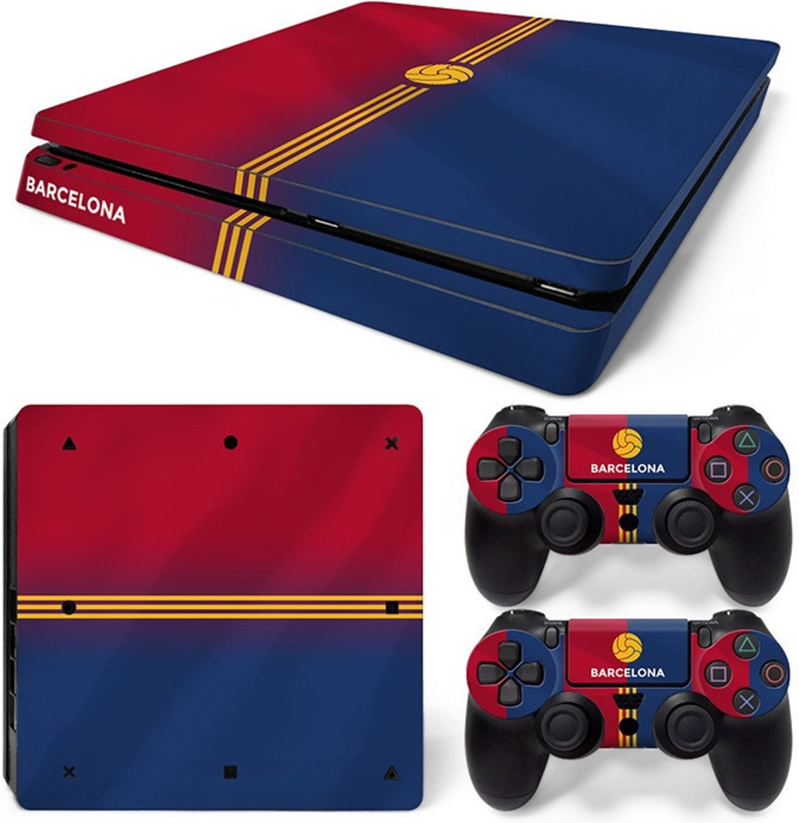 Barcelona - PS4 Slim Console Skins PlayStation Stickers