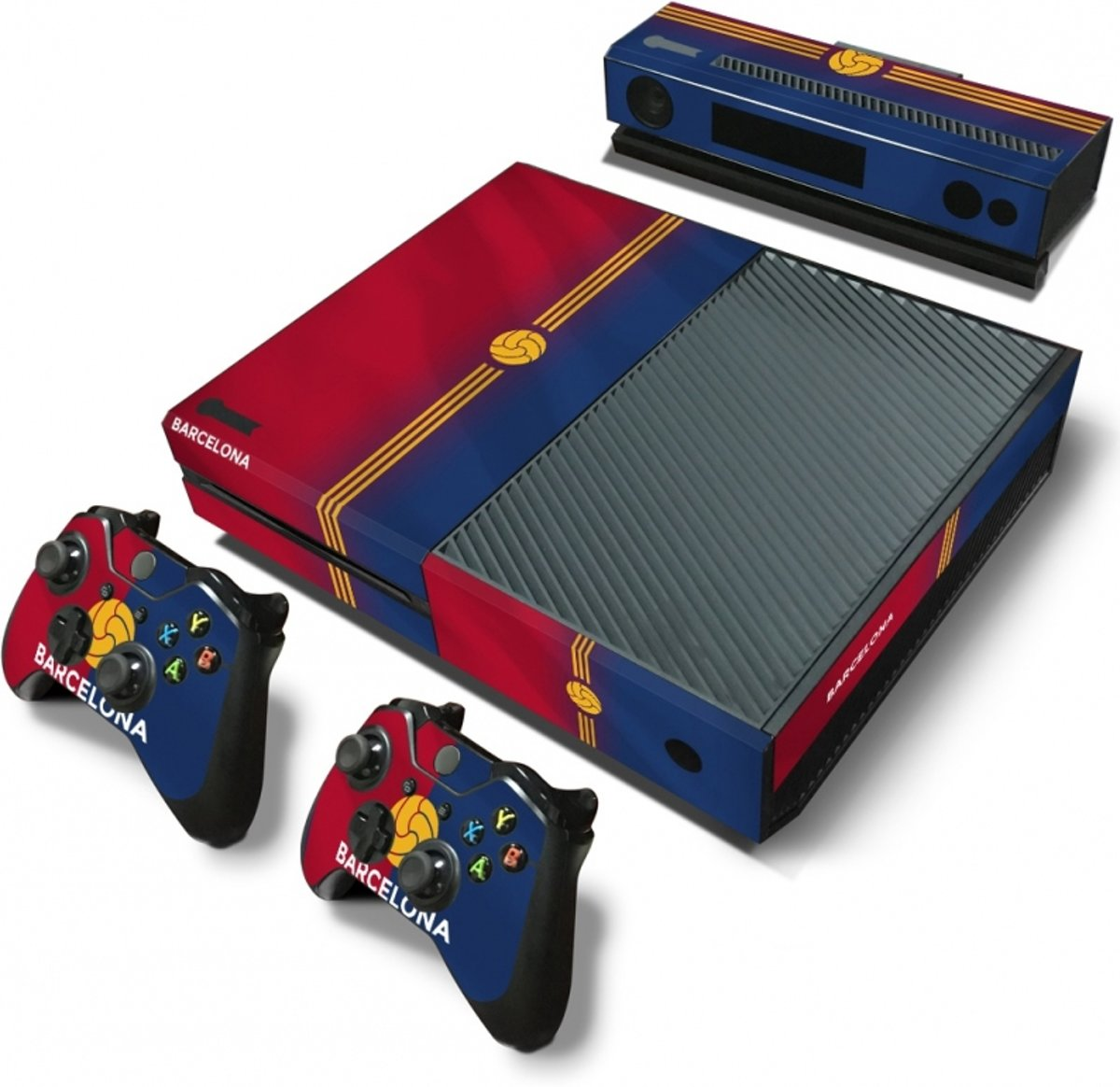 Barcelona - Xbox One Console Skins Stickers