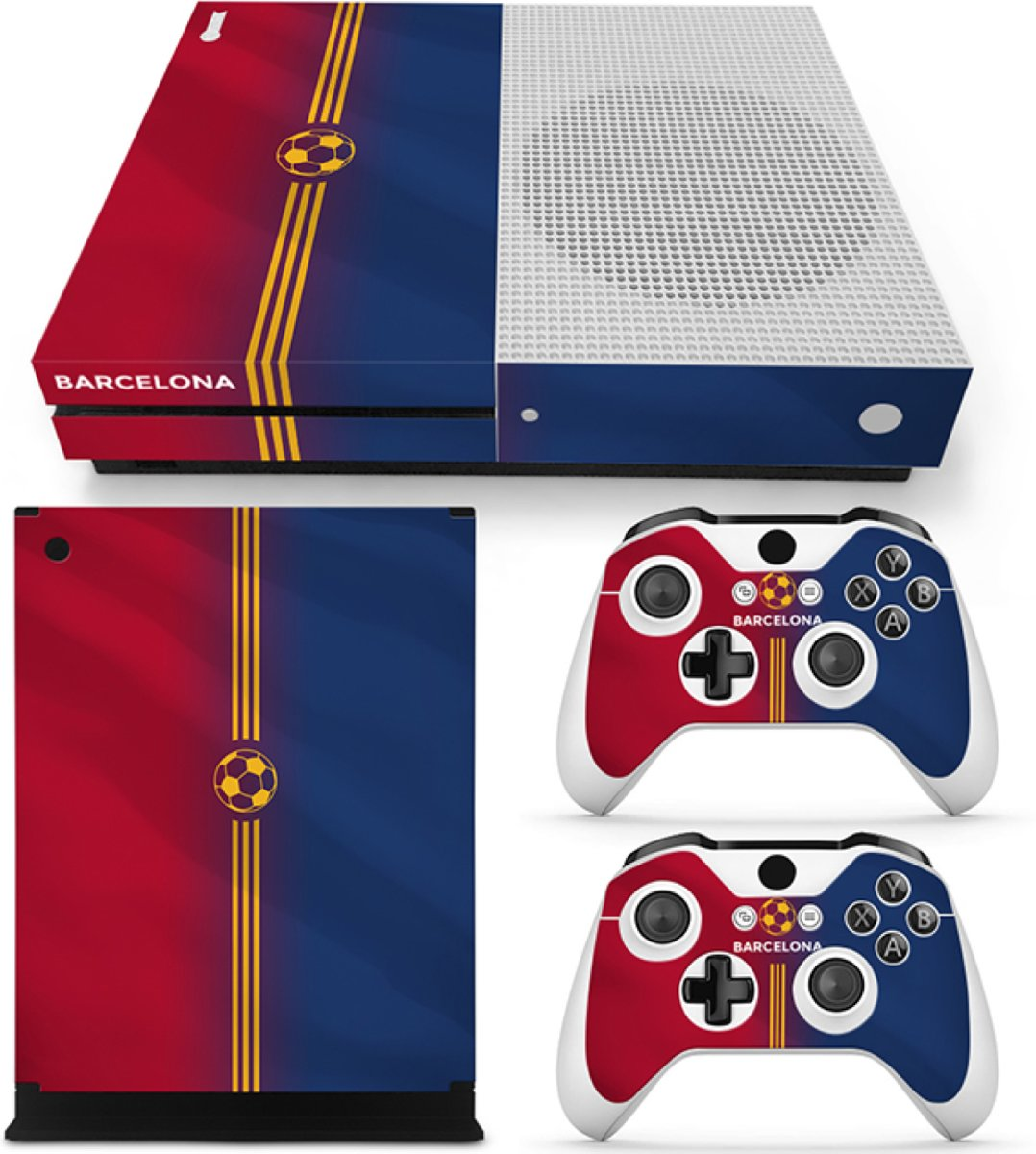 Barcelona - Xbox One S Console Skins Stickers