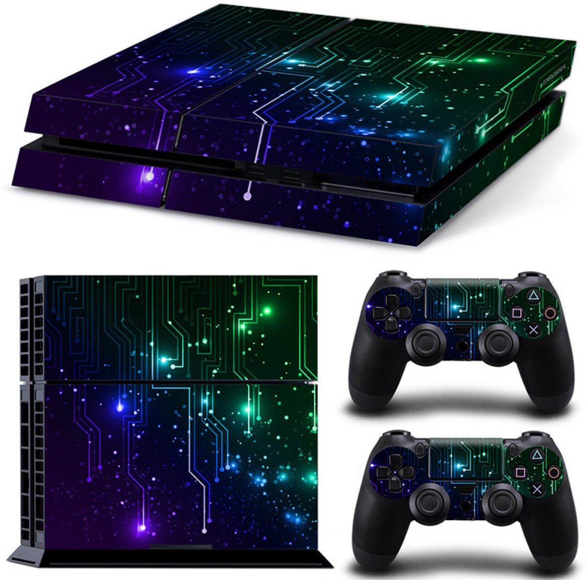 CPU / Mix - PS4 Console Skins PlayStation Stickers