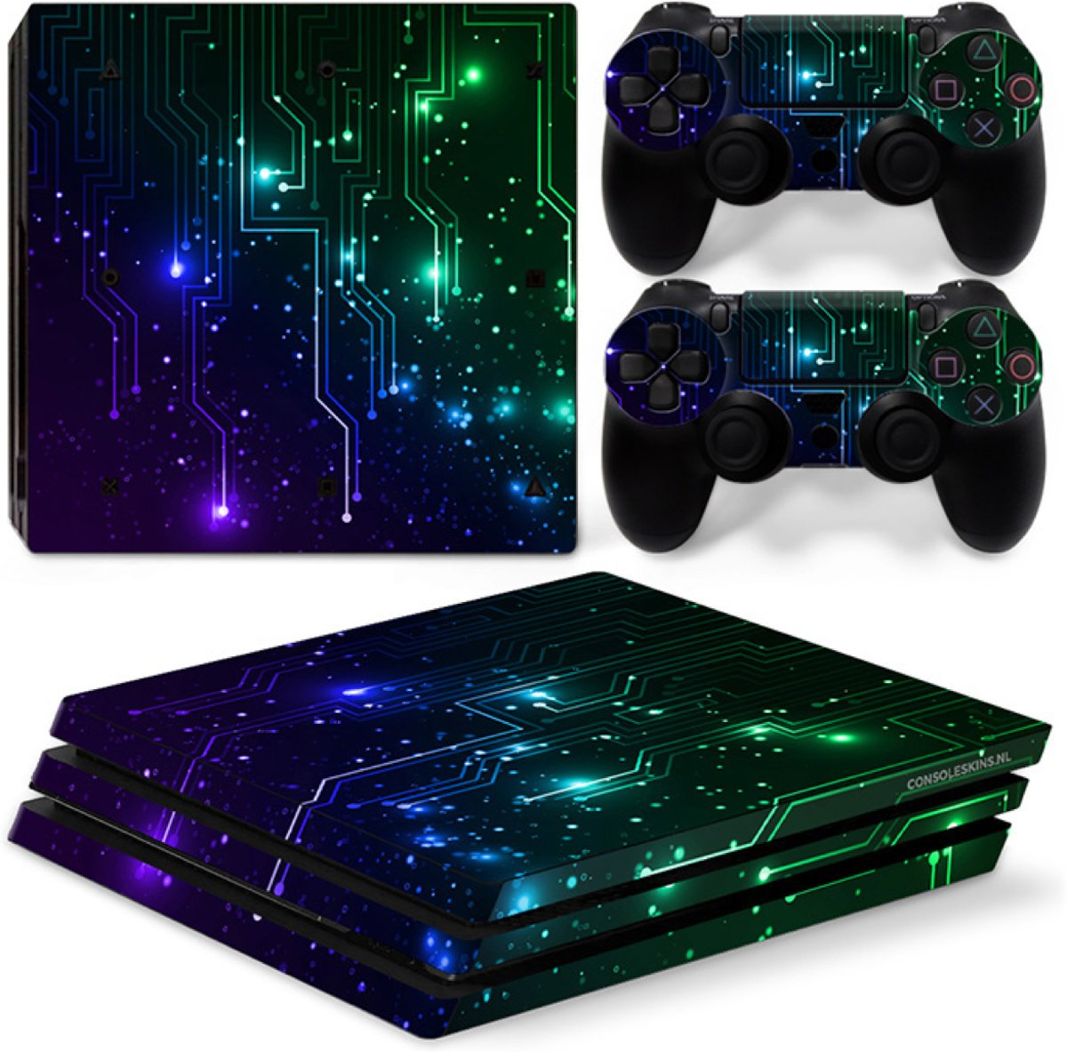 CPU / Mix - PS4 Pro Console Skins PlayStation Stickers