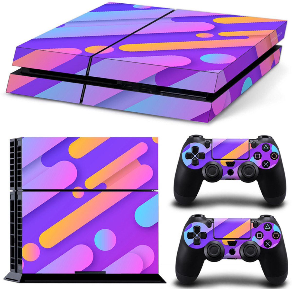 Candy Mix - PS4 Console Skins PlayStation Stickers