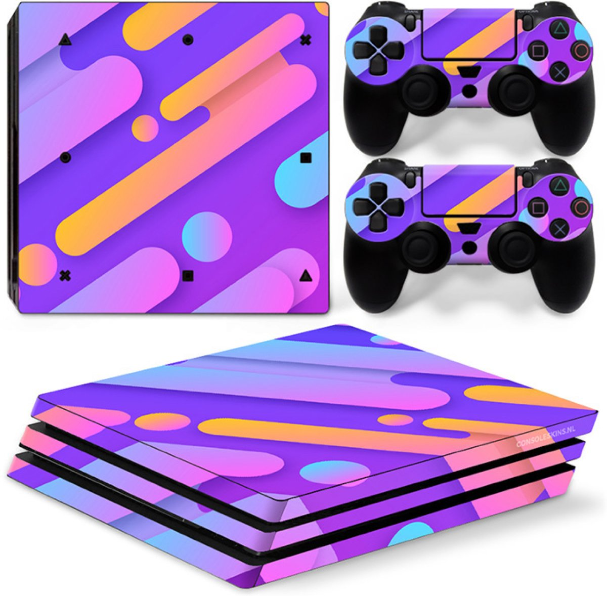 Candy Mix - PS4 Pro Console Skins PlayStation Stickers