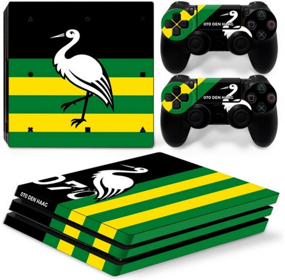 Den Haag - PS4 Pro Console Skins PlayStation Stickers