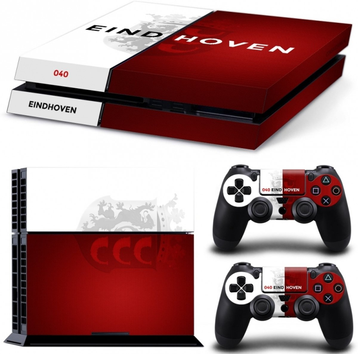 Eindhoven - PS4 Console Skins PlayStation Stickers