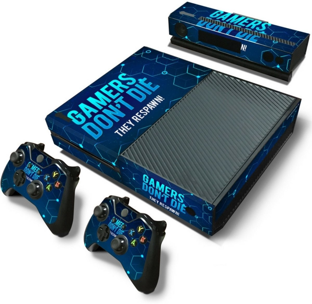 Gamers - Xbox One Console Skins Stickers