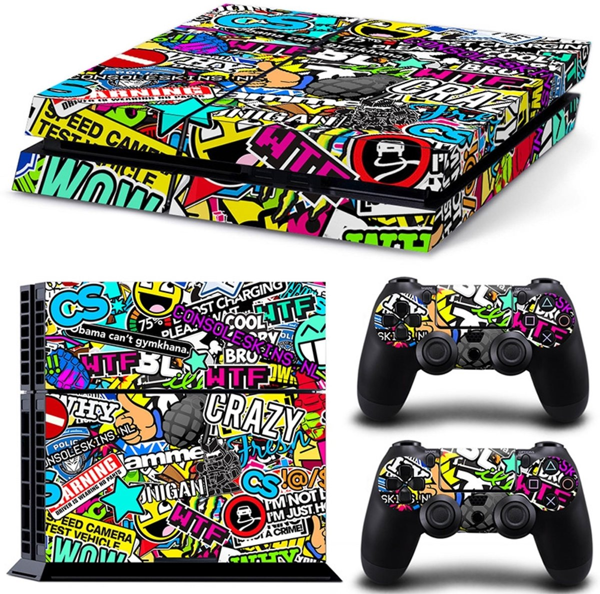 Madness - PS4 Console Skins PlayStation Stickers