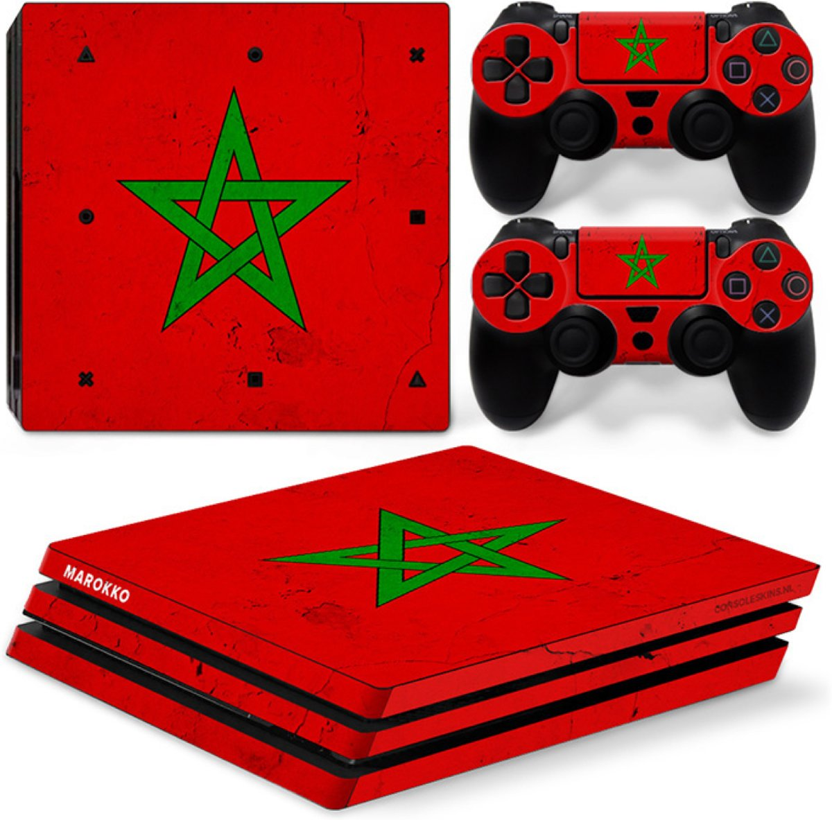 Marokko - PS4 Pro Console Skins PlayStation Stickers