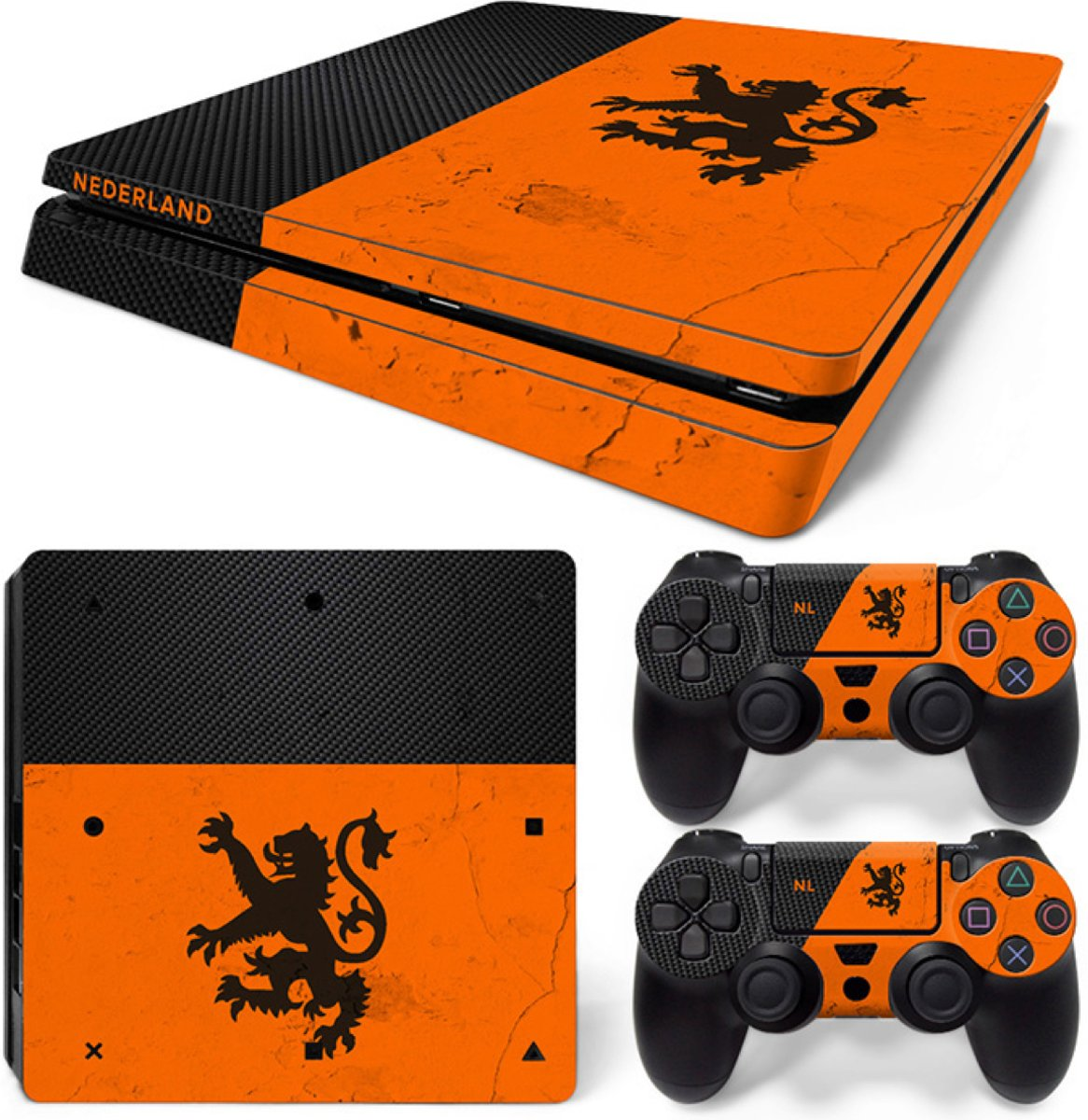 Nederland - PS4 Slim Console Skins PlayStation Stickers
