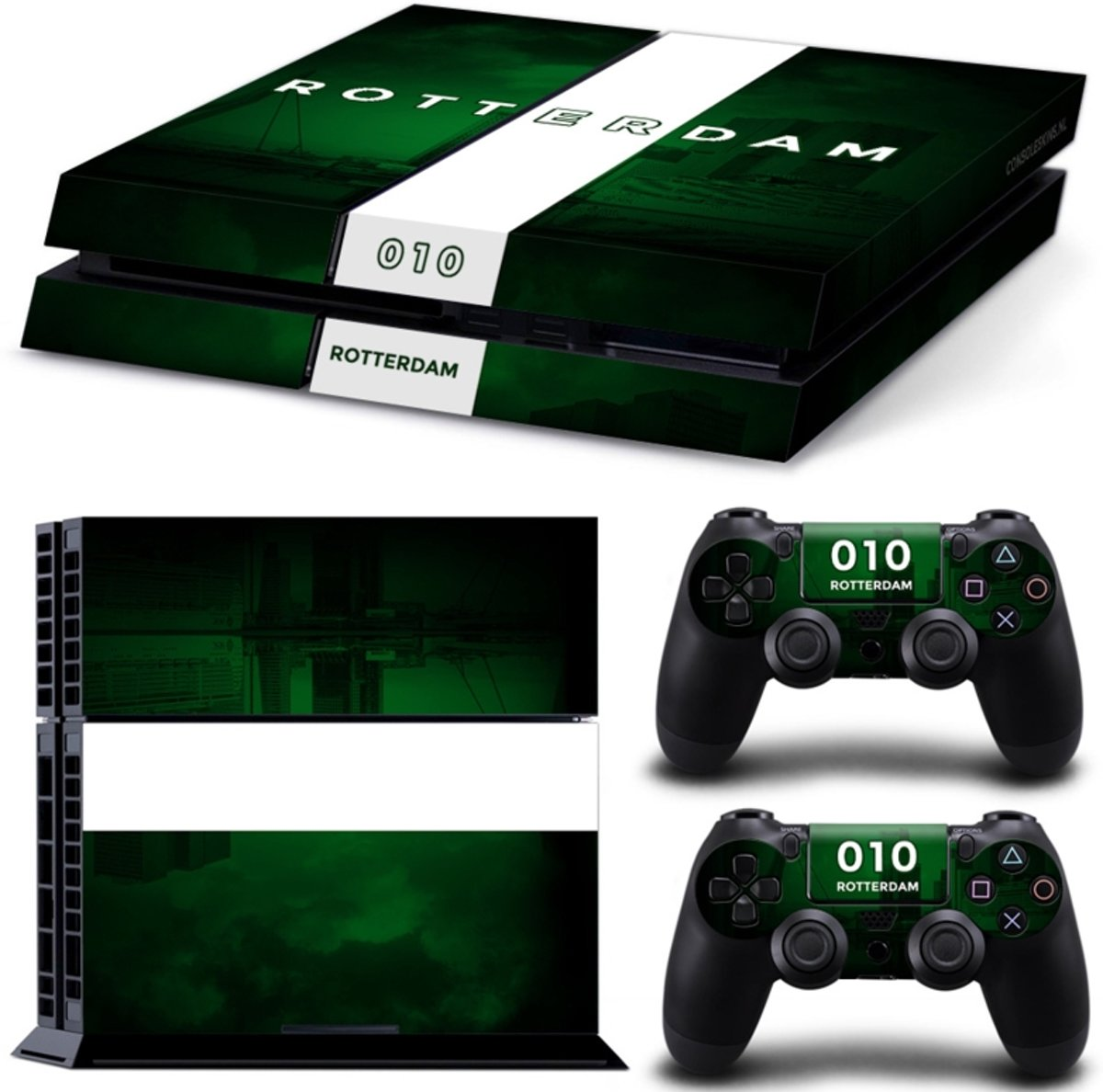 Rotterdam - PS4 Console Skins PlayStation Stickers