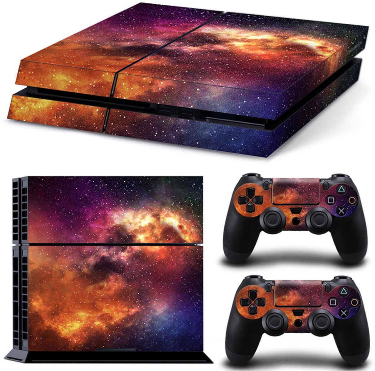Starry Sky - PS4 Console Skins PlayStation Stickers