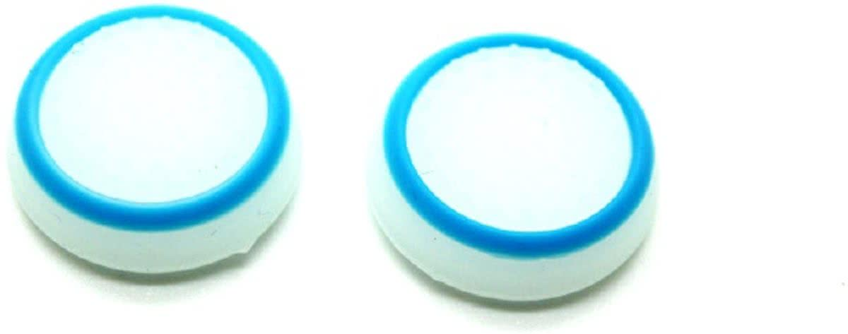 Blauw- Wit (Glow in the dark) - Thumbstick Grips (PS4/XboxOne)