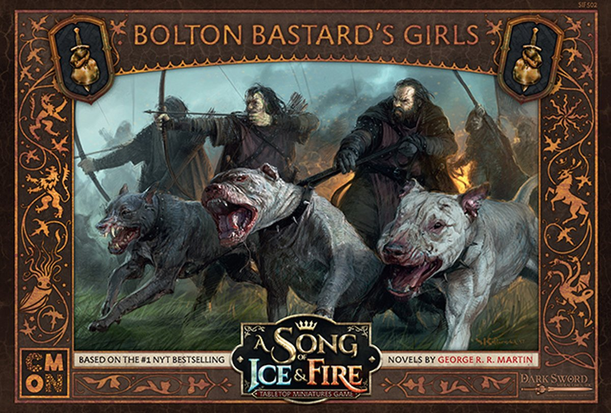 A Song of Ice and Fire Miniature Game - Bolton Bastards Girls