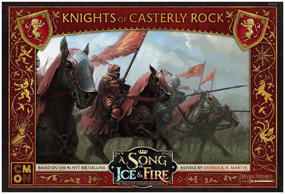 A Song of Ice and Fire Miniature Game - Knights of Casterly Rock
