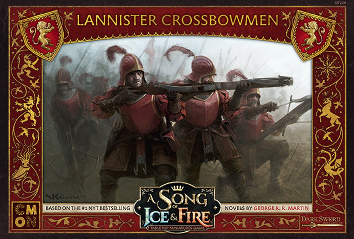 A Song of Ice and Fire Miniature Game - Lannister Crossbowmen
