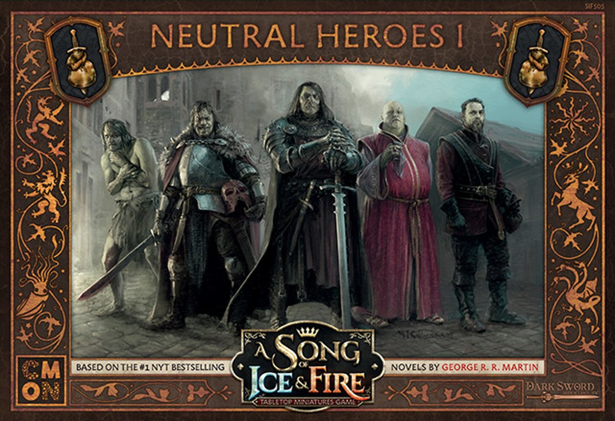 A Song of Ice and Fire Miniature Game - Neutral Heroes I