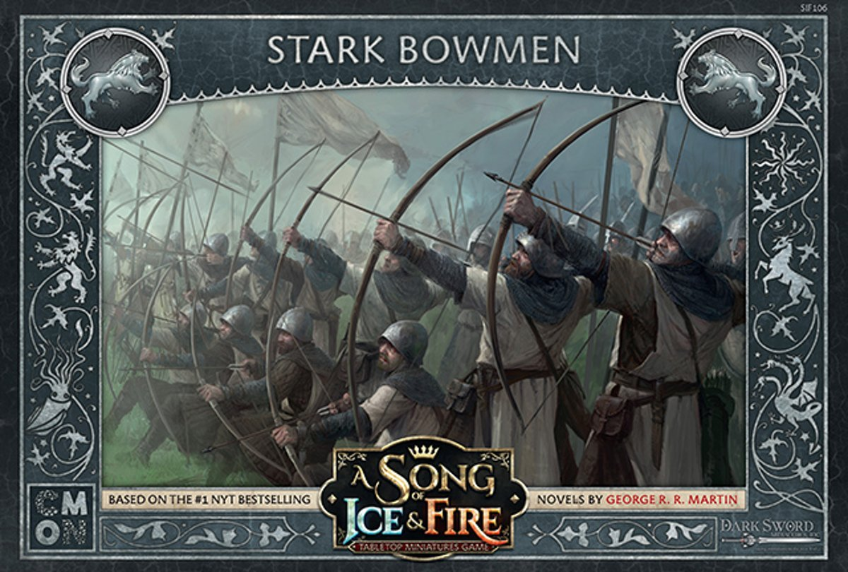 A Song of Ice and Fire Miniature Game - Stark Bowmen