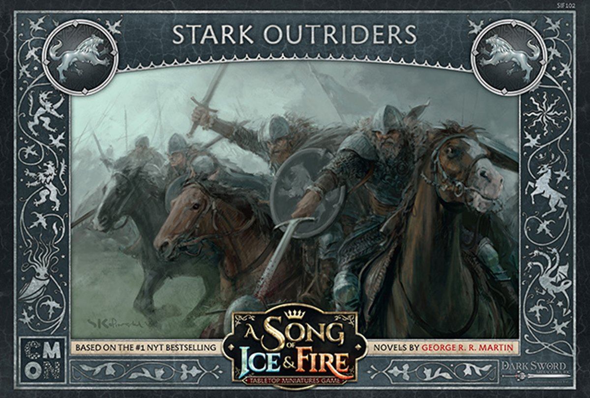 A Song of Ice and Fire Miniature Game - Stark Outriders