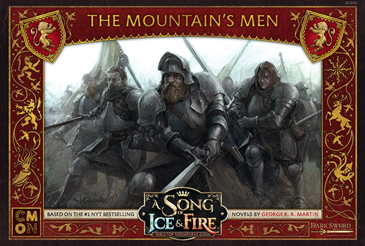A Song of Ice and Fire Miniature Game - The Mountains Men