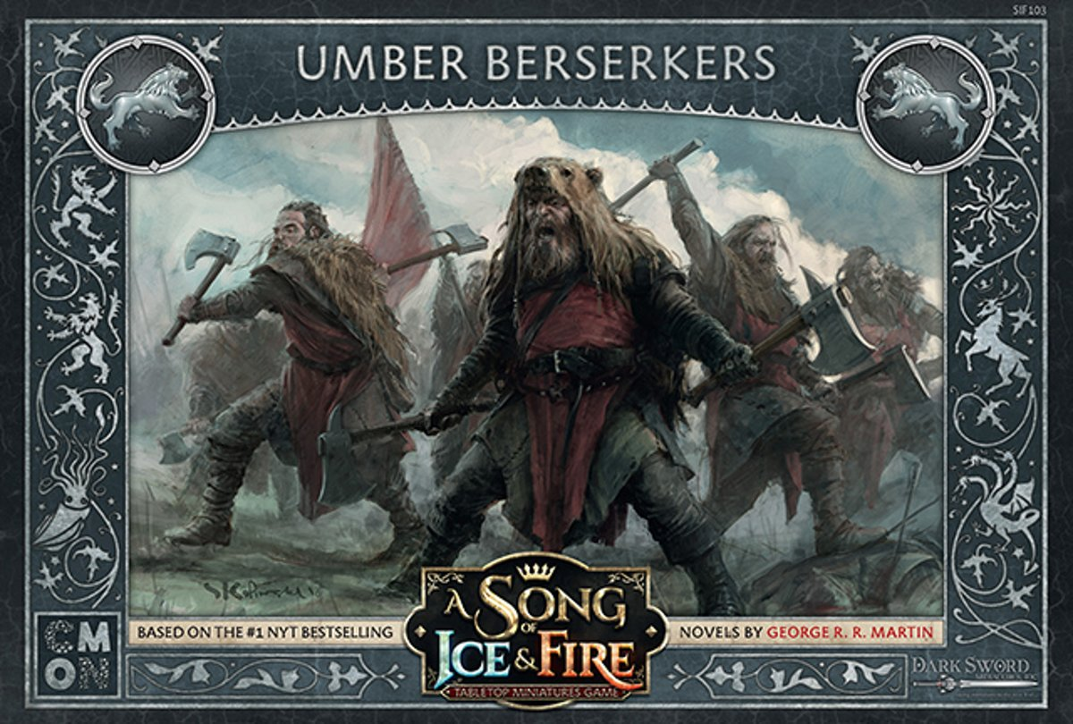 A Song of Ice and Fire Miniature Game - Umber Berserkers