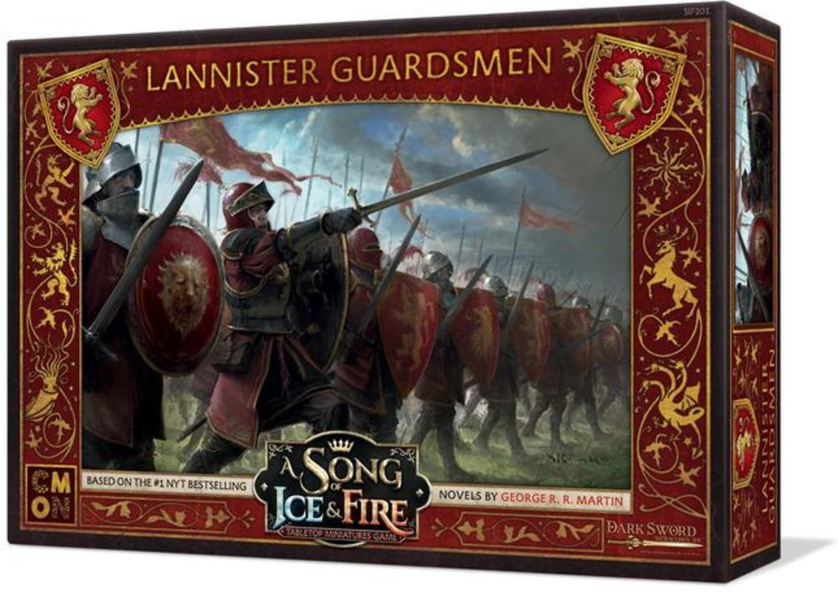 A Song of Ice and Fire Miniatures Game: Lannister Guardsmen