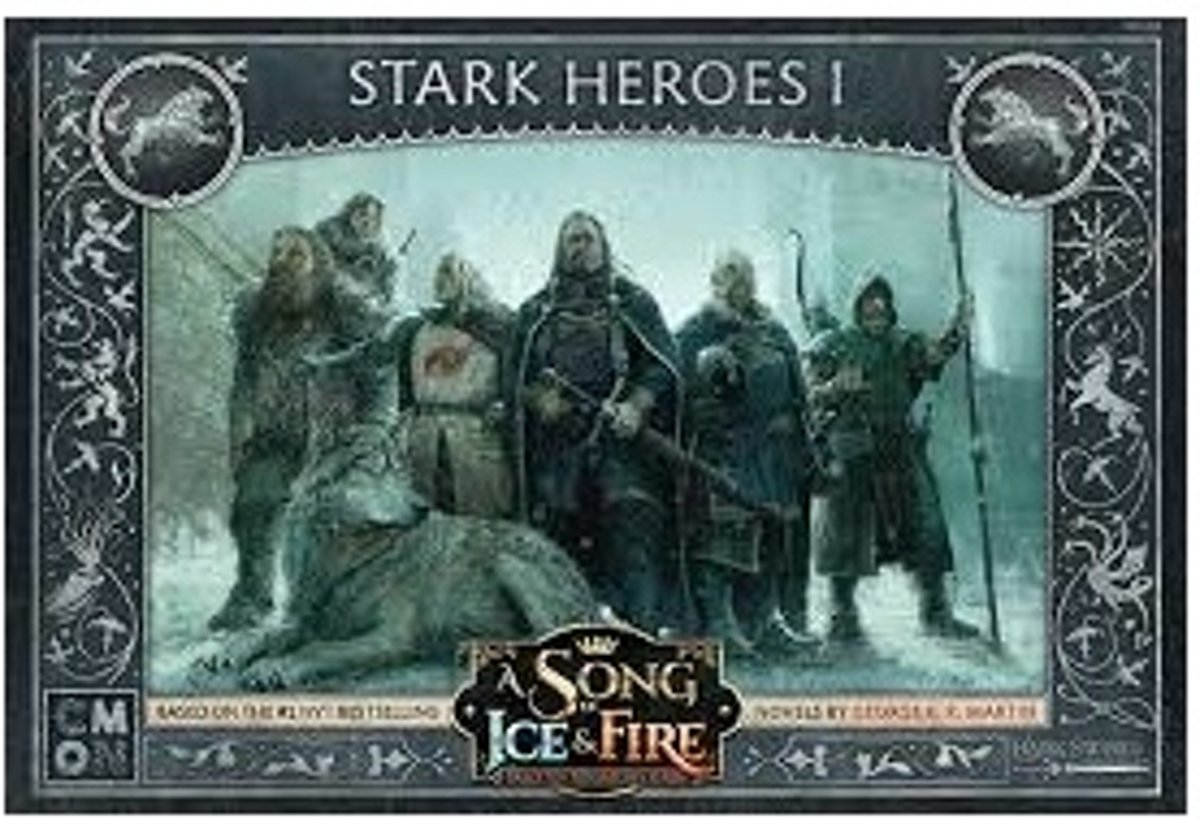 A Song of Ice and Fire: Stark Heroes I