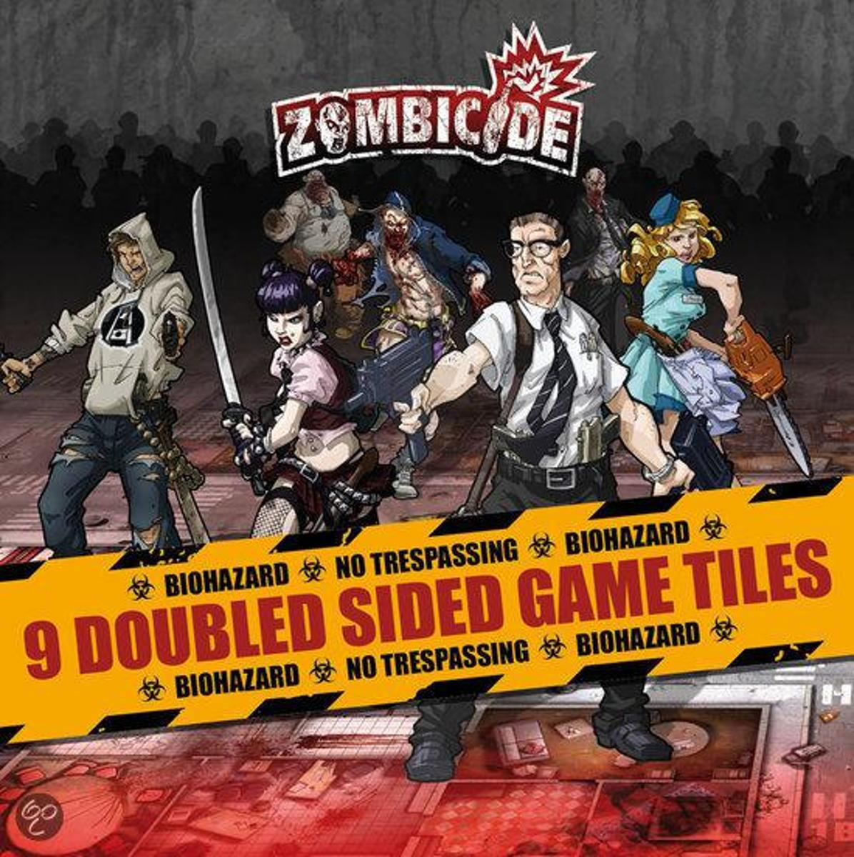 Zombicide 9 - Double Sided Game Tiles