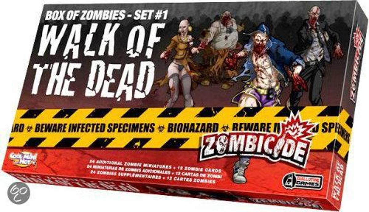Zombicide Set 1 Walk of the Dead - Bordspel