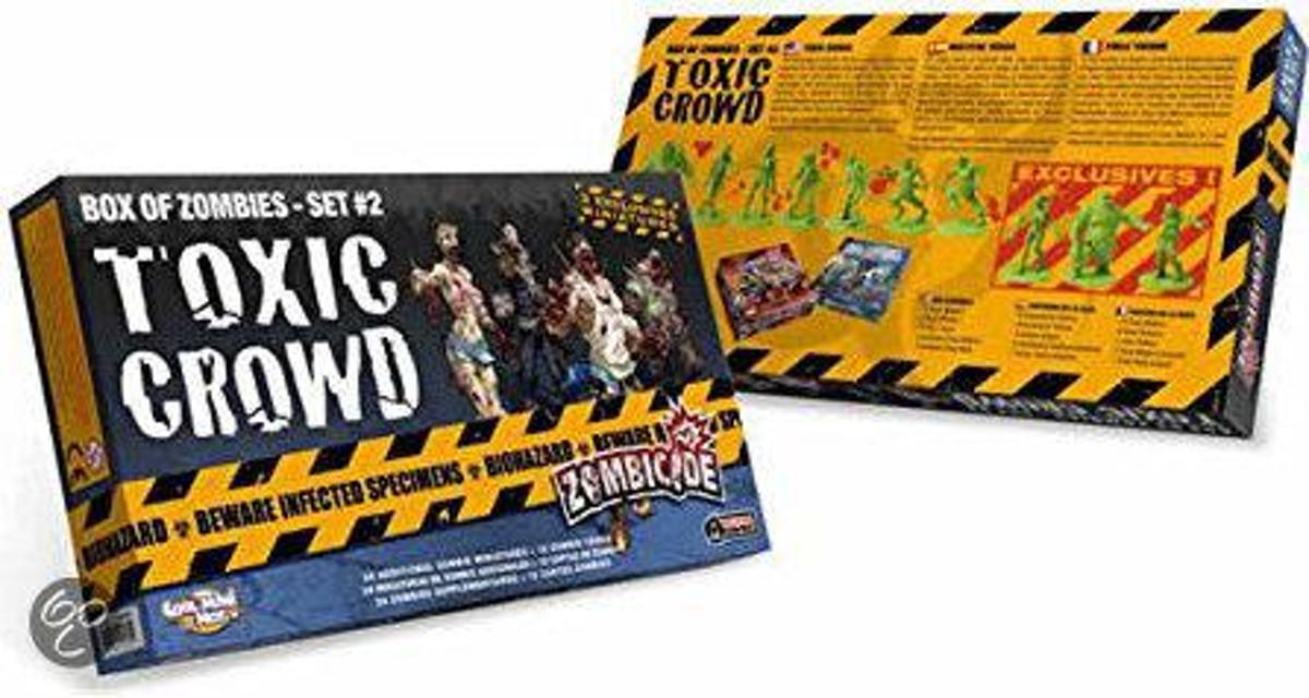 Zombicide Set 2 Toxic Crowd - Bordspel