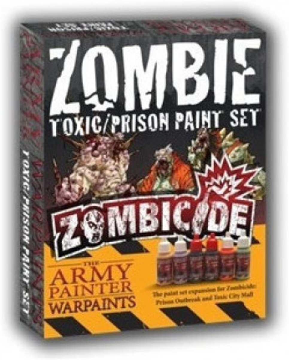 Zombicide Zombie Supplement Toxic/Prison Paint Set