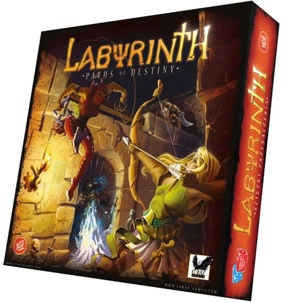 Labyrinth: Paths of Destiny Bordspel
