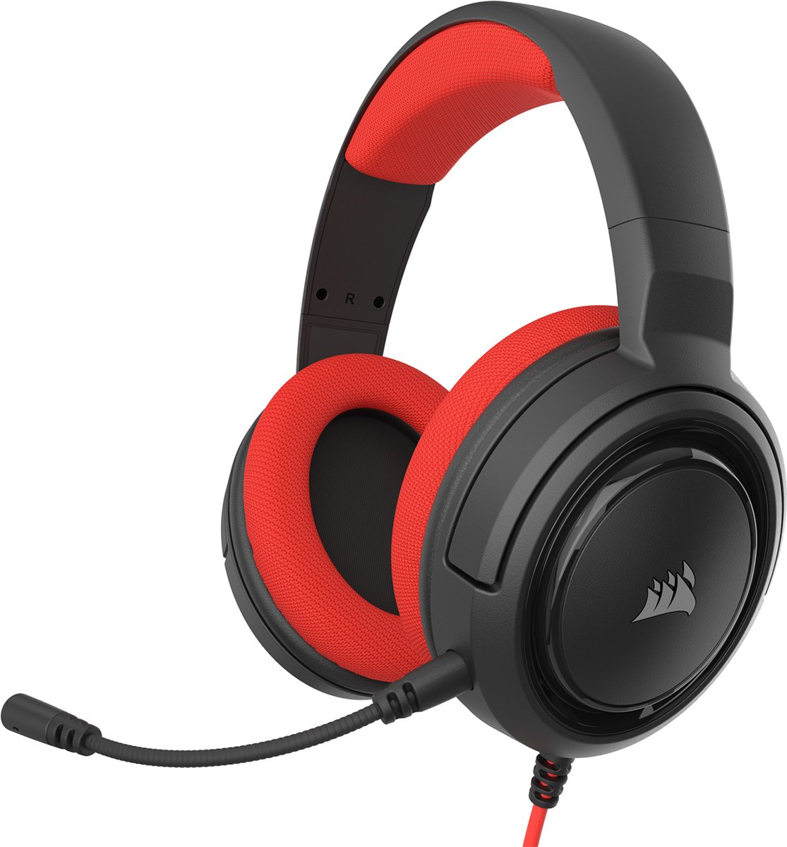 HS35 Gaming Headset - Rood
