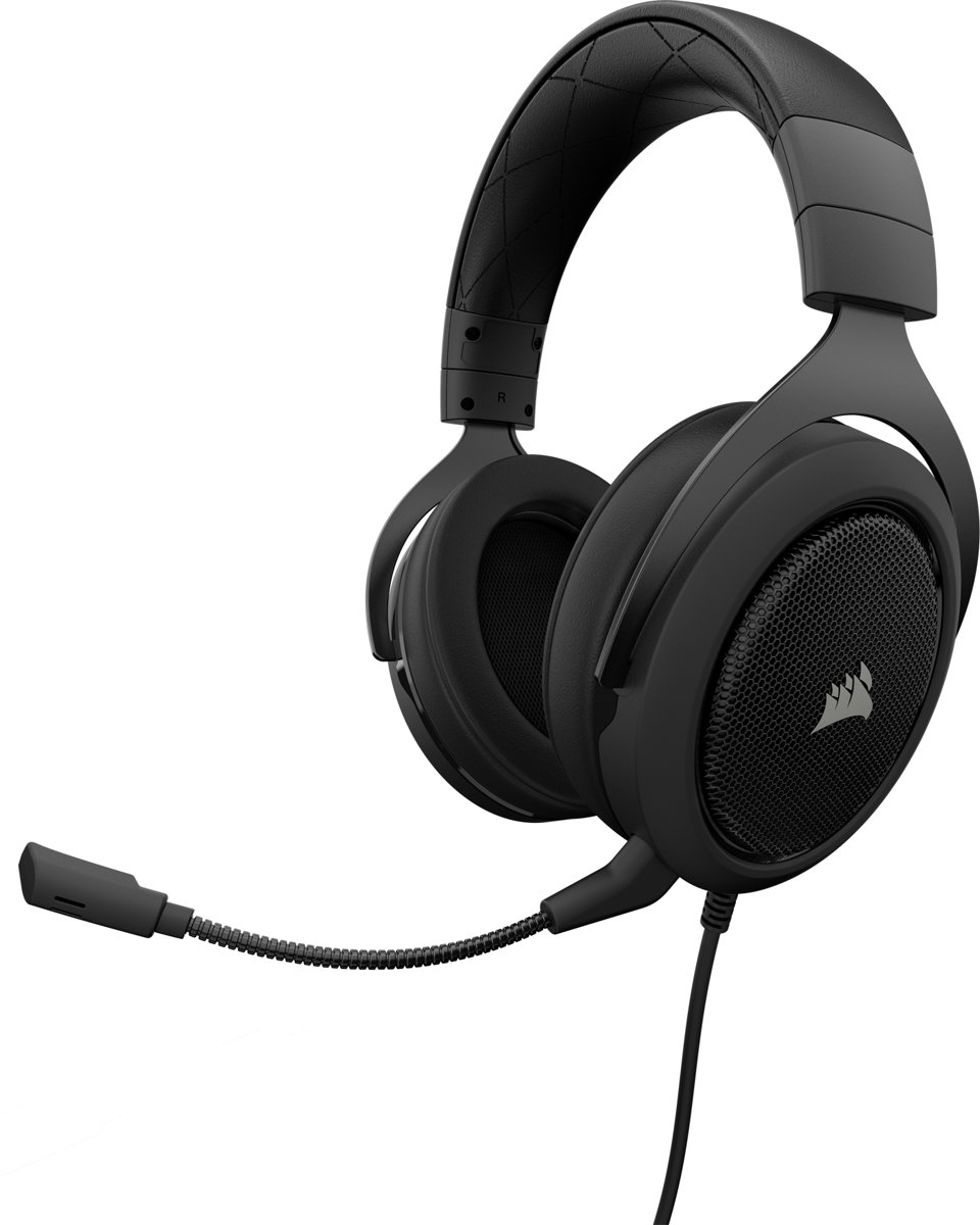 Corsair HS60 - 7.1 Surround - Gaming Headset - Carbon  - PS4 + Xbox One + PC + Switch