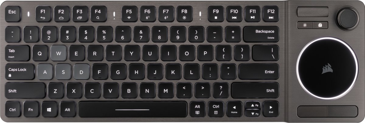 K83 - Qwerty - Draadloos Entertainment Toetsenbord