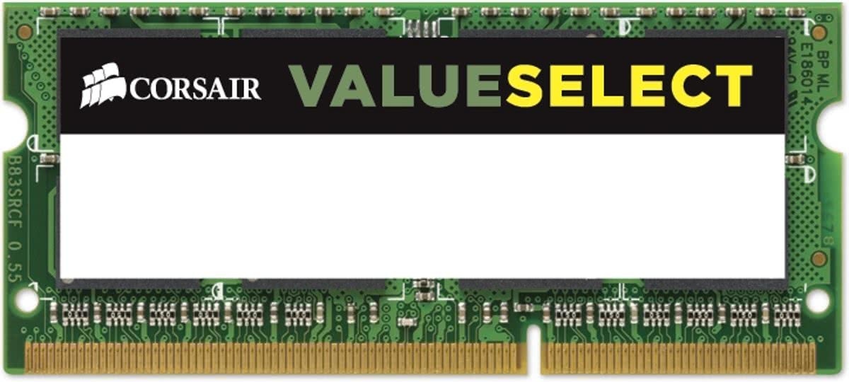 ValueSelect CMSO4GX3M1C1600C11 4GB DDR3L SODIMM 1600MHz (1 x 4 GB)