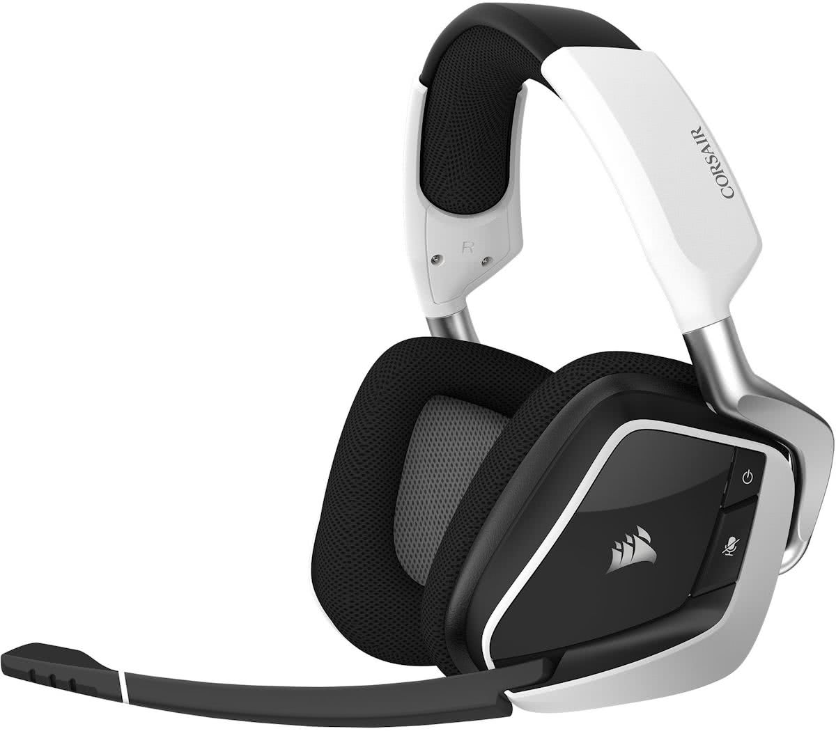 Corsair Void Pro RGB - Draadloze Gaming Headset - Wit - PC