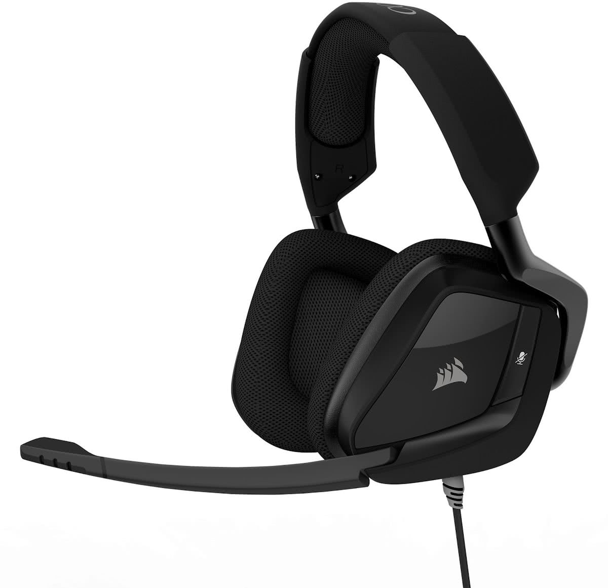 Void Pro Surround - Premium Gaming Headset - Carbon Black - PC + PS4 + Switch + Xbox One