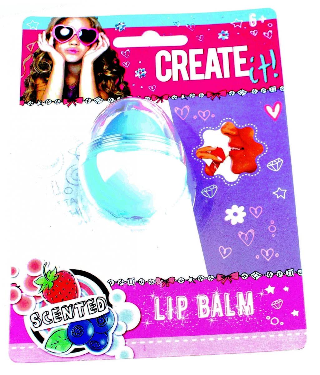 Create It! Charms Lippenbalsem Fruit Mint