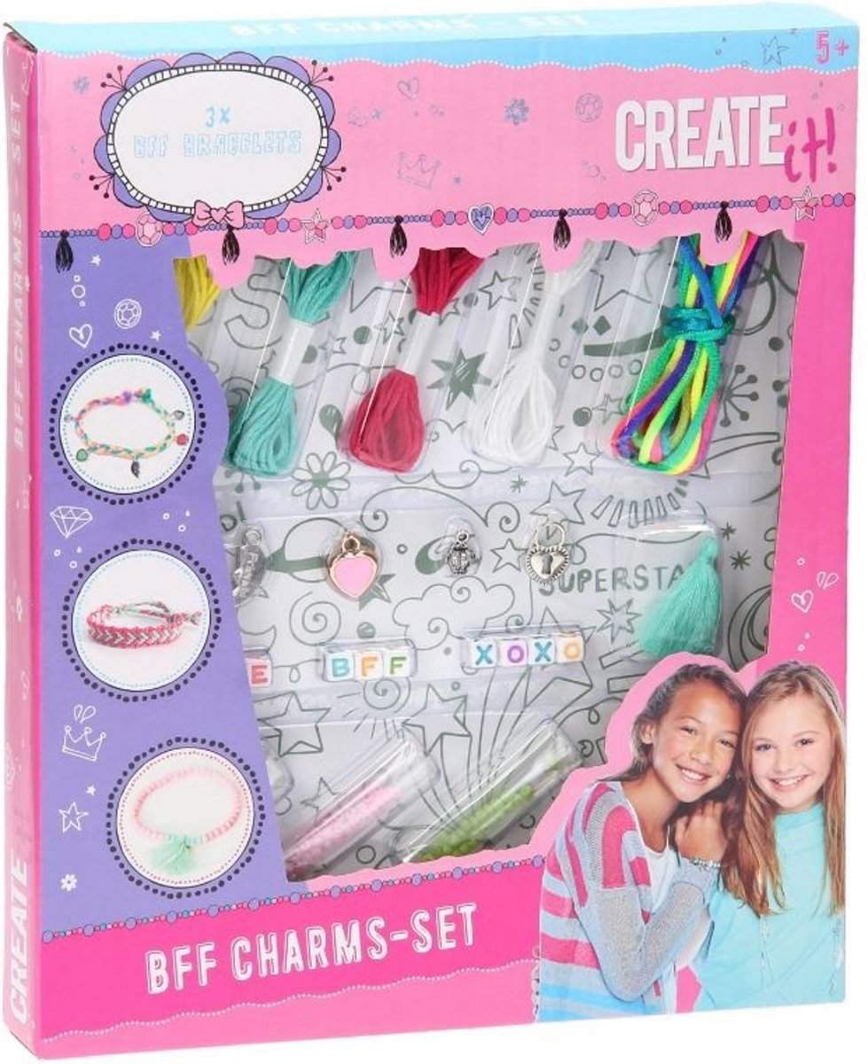 Create It Bff Charms Set S