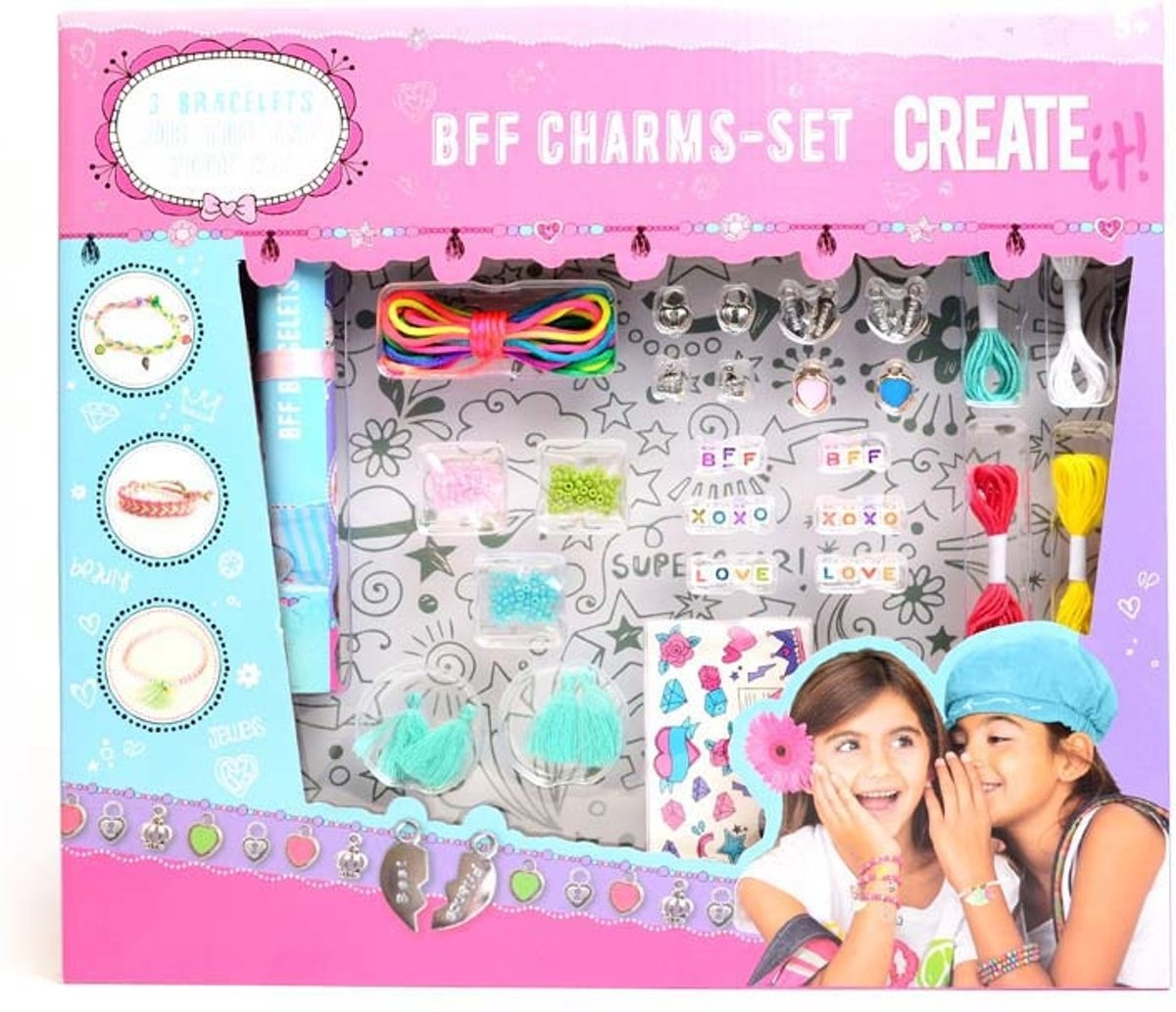 Create It Bff Charms Set Xl