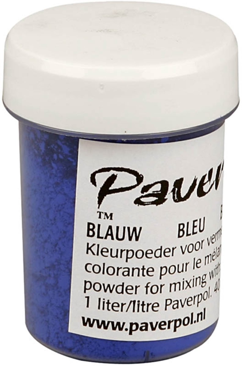 Paver Color, blauw, 40ml