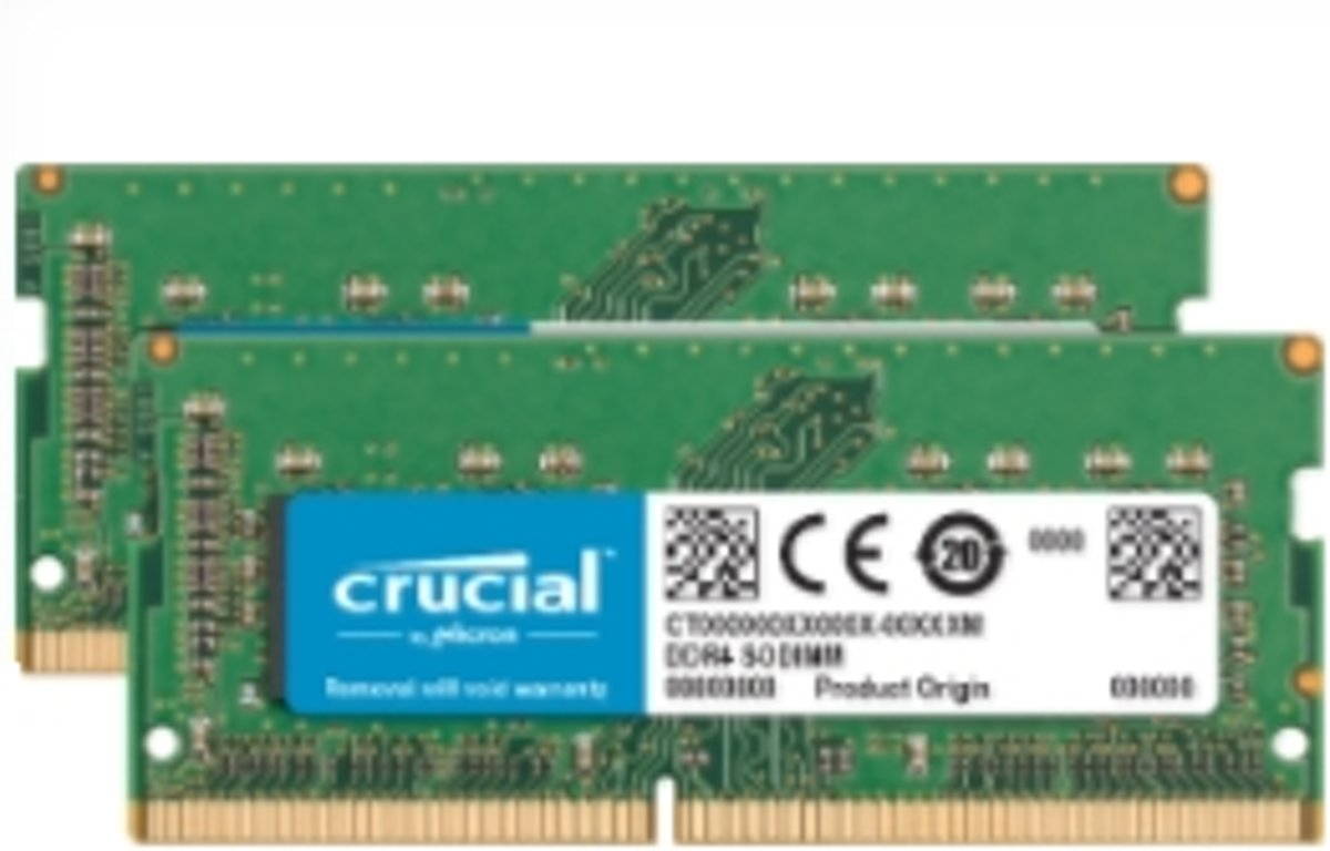 16GB DDR4-2400 geheugenmodule 2400 MHz